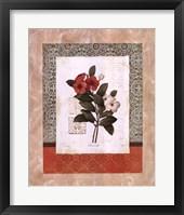 Framed Tulip Silhouette