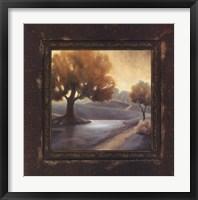 Rustic Landscape I Framed Print