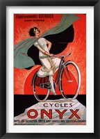 Framed Cycles Onyx