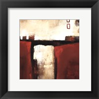 Framed Red Trestle