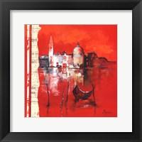 Framed Venise Reflets