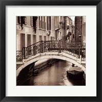 Ponti Di Venezia No. 1 Framed Print