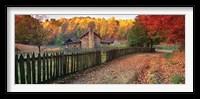 Framed Pioneer Farm