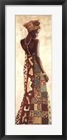 Framed Femme Africaine III
