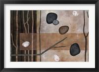 Framed Sticks And Stones IV