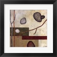 Framed Sticks And Stones VII