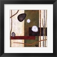 Framed Sticks And Stones VIII