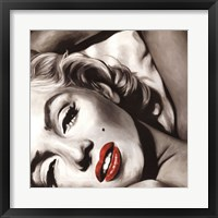 Framed Marilyn Monroe - Allure