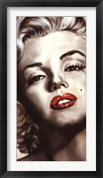 Framed Marilyn Monroe - Glamorous