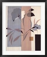 Framed Fleurs Du Matin II
