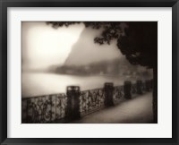 Evening, Lago Di Como Framed Print