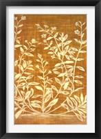 Floral Tapestry II Framed Print