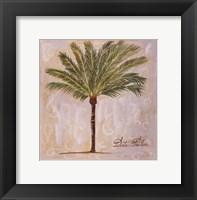 Framed Date Palm