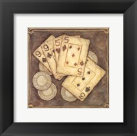 Framed Poker - Nines and Fives