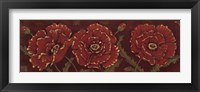 Venetian Poppies - Cs Framed Print