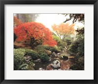 Framed Japanese Garden I