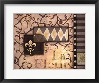 La Fleur - Cs Framed Print