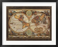 Old World View I Framed Print