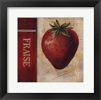 Strawberry Framed Print