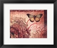 Le Rose A Monte II Framed Print