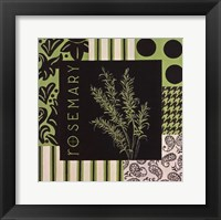 Herbal Zest I Framed Print