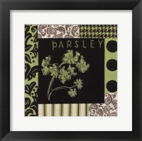 Herbal Zest II Framed Print