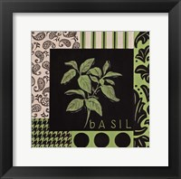 Herbal Zest III Framed Print