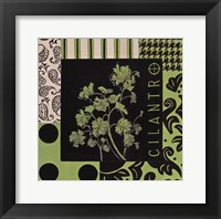 Herbal Zest IV Framed Print