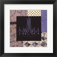 Chandelier IV Framed Print