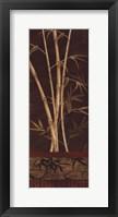 Framed Bamboo Garden II