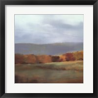 Back Road I Framed Print