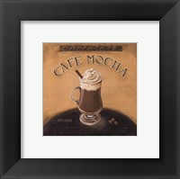 Cafe-Mocha Framed Print
