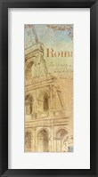 Travel Monuments IV Framed Print
