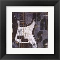 Rock Concert III Framed Print