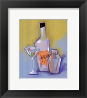 Vodka Framed Print