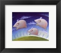 Framed Pigs Will Fly