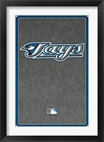 Framed Toronto Blue Jays - Logo