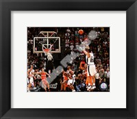 Framed Tim Duncan 2007-08 Playoff Action
