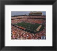 Framed Neyland Stadium University of Tennessee; 2005