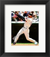 Framed Grady Sizemore 2008 Batting Action