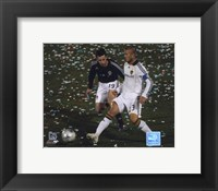 Framed David Beckham 2008 Action, #107