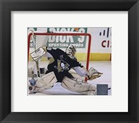 Framed Marc-Andre Fleury Game 3 of the 2008 NHL Stanley Cup Finals Action; #11