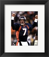 Framed John Elway Celebration