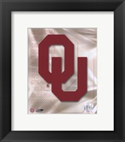Framed Oklahoma University 2008 Logo
