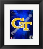 Framed Georgia Tech Yellow Jackets 2008 Logo