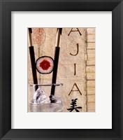 Framed Ajia