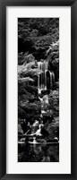 Framed Garden Falls