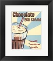Framed Chocolate Egg Cream