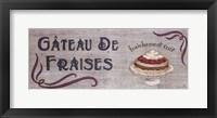 Framed Gateau de Fraises