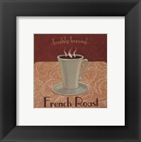 French Roast Coffee Framed Print